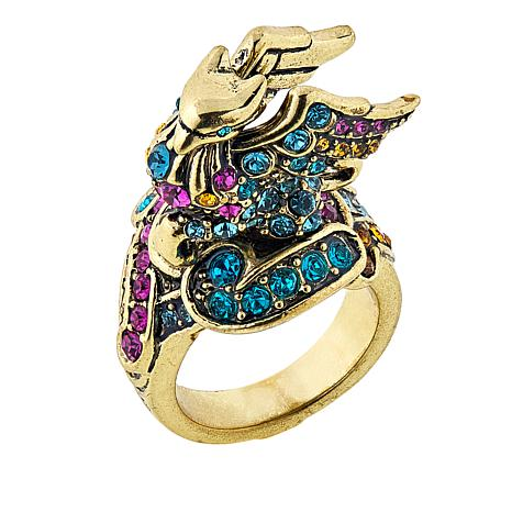 """Heidi Daus """"The Griffin"""""""" Crystal Ring"""