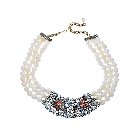 "Heidi Daus ""The Reel McKoi"" Beaded 3-Strand Necklace"