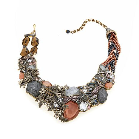 "Heidi Daus ""The River Runs Through It"" Drop Necklace"