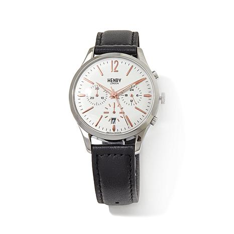 "Henry London ""Highgate"" 3-Subdial Chronograph Watch"