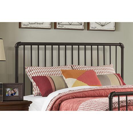 Hillsdale Furniture Brandi Headboard With Frame Oil Rubbed Bronze