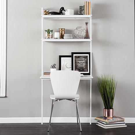 Holly and Martin Haeloen Wall-Mount Desk - White