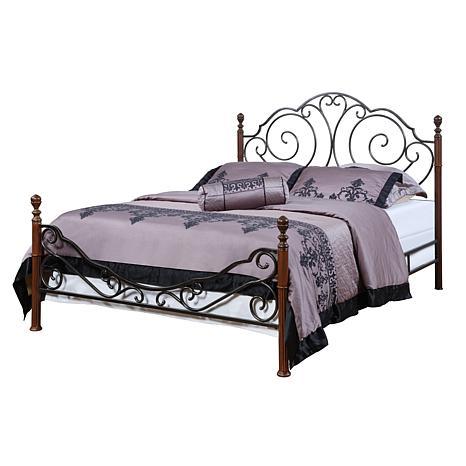 Home Origin Metal Poster Bed - Queen