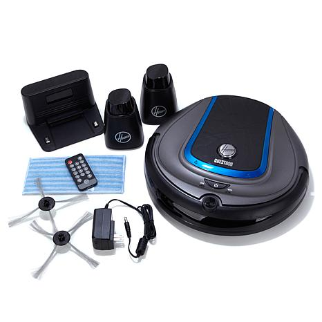 hoover quest 800 robot vacuum with 2 invisible walls - Robot Vacuums