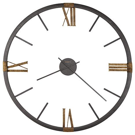 "Howard Miller ""Prospect Park"" 5' Metal Wall Clock"