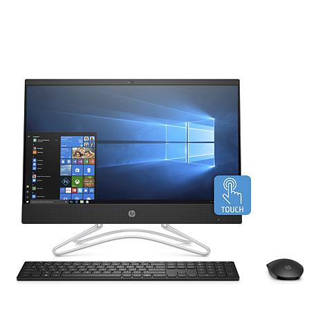 "HP 23.8"" Touch AMD A9 8GB RAM, 1TB HDD All-in-One PC Bundle"