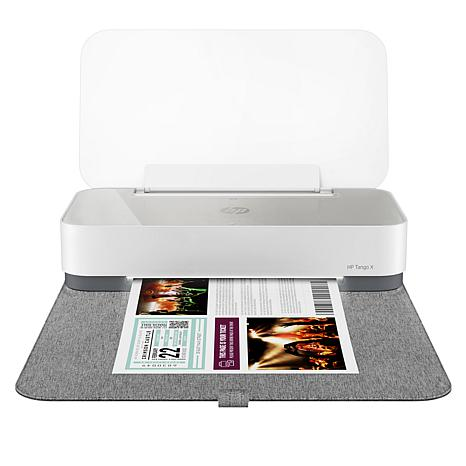 HP Tango X Smart Home Wireless Printer with Linen Cover