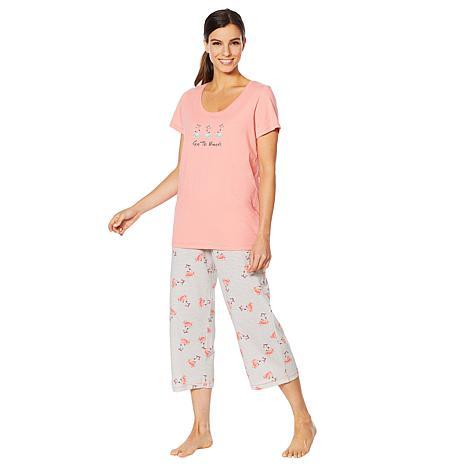HUE 2-piece Mother's Day Sleepwear Set - Missy