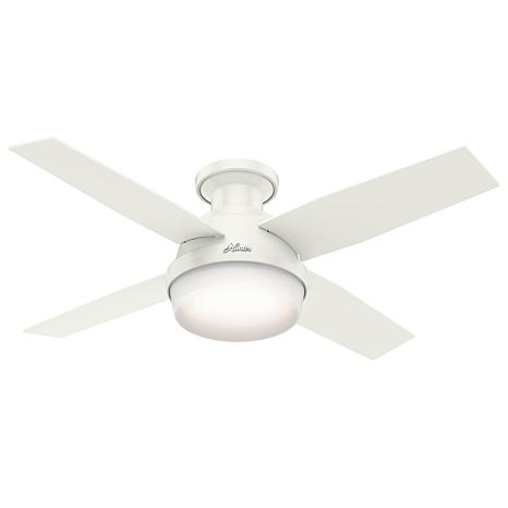 """Hunter 44"""" Dempsey  Ceiling Fan with LED Light Kit and Remote"""