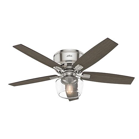 """Hunter 52"""" Bennett Ceiling Fan with LED Light Kit and Remote"""