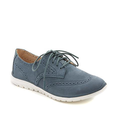 Hush Puppies Zula Tricia Suede Lace-Up Oxford