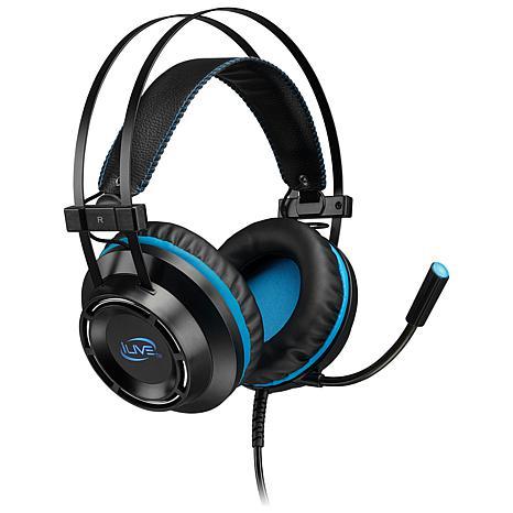 iLive IAHG39B Gaming Headphones with Microphone