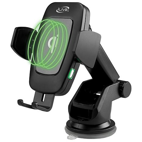 iLive Qi Wireless Fast Charge Phone Mount