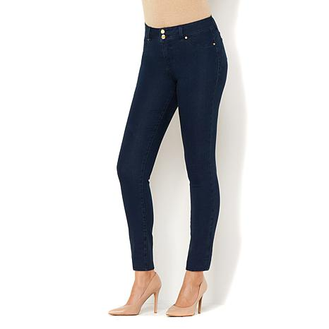 IMAN Global Chic Curve Appeal Luxury Denim Ankle Pant