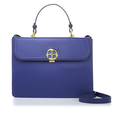 Iman Global Chic Luxe Pop Of Color Handbag