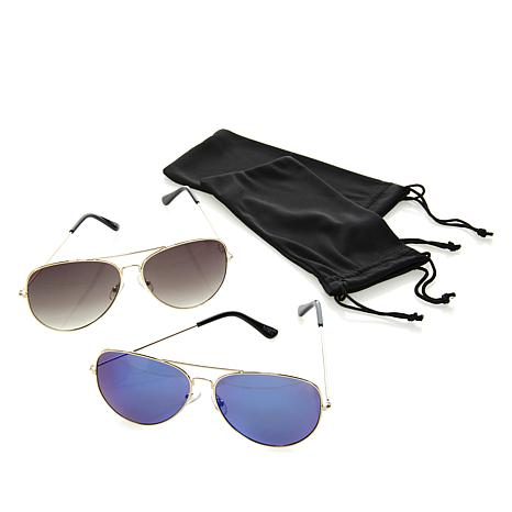 IMAN Global Chic Luxury Resort Buy One, Get One Sunglasses Set