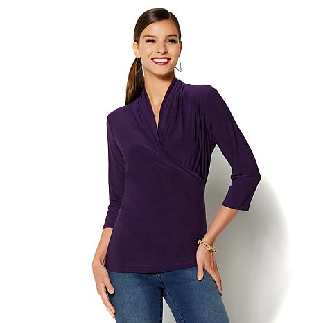 IMAN Global Chic Signature Luxe Convertible Crossover Top - Fashion