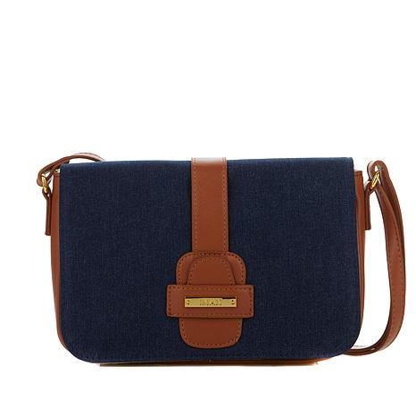 IMAN Runway Chic Luxurious Denim Crossbody