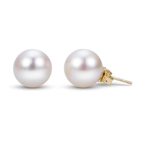 Imperial Pearls 14K 9-9.5mm Cultured Freshwater Pearl Stud Earrings