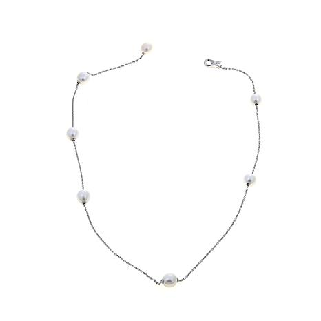 Imperial Pearls 8-9mm Cultured Pearl Adjustable Necklace