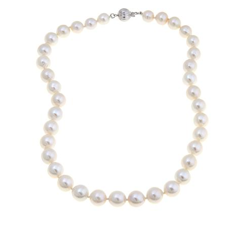 """Imperial Pearls 9.5-11.5mm Cultured Pearl  18"""" Necklace"""