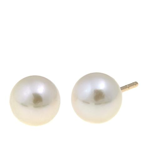 Imperial Pearls Cultured Akoya Pearl 14K Stud Earrings