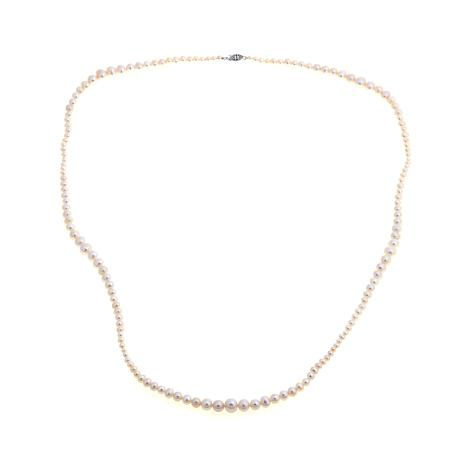 Imperial Pearls Cultured Pearl Graduated Necklace