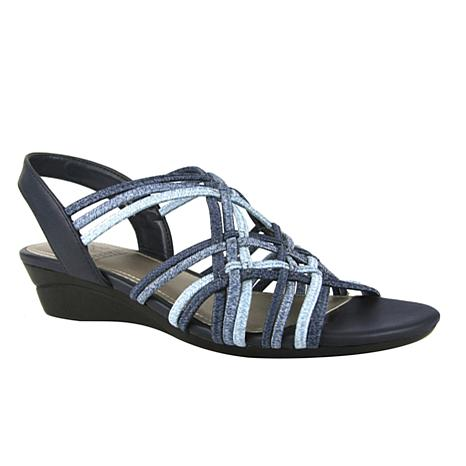 IMPO Rainelle Stretch Wedge Sandal