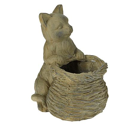 Improvements Animal with Basket Planter