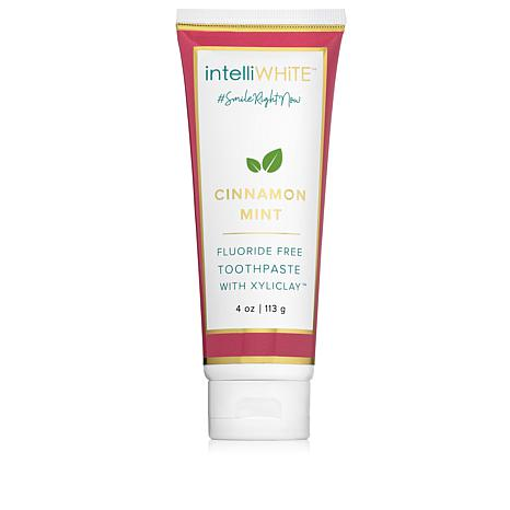 intelliWHiTE® Cinnamon Mint Flouride-Free Toothpaste with Xyliclay™