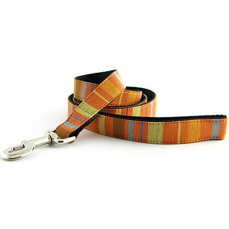 """Isabella Cane Abbington Dog Leash - Orange 5' x 3/4"""""""