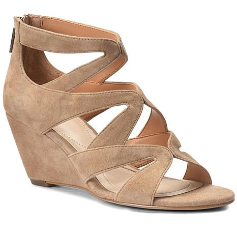 63f8dc20382a Isola Filisha Leather or Suede Wedge Sandal - 8616246