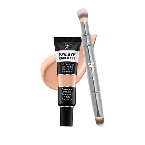 IT Cosmetics 30.5 Tan Bye Bye Under Eye Concealer with Collagen