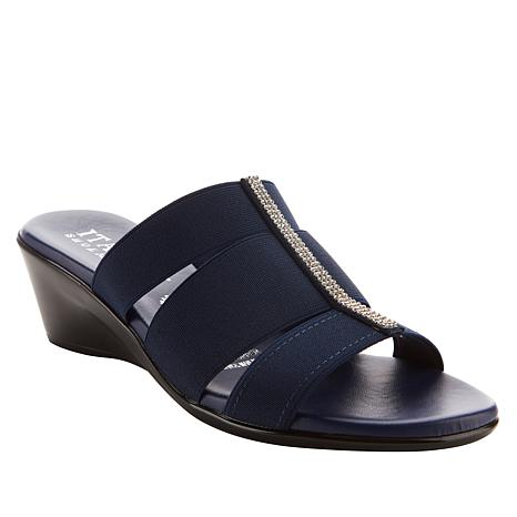 Italian Shoemakers Valery 3-Band Slide Sandal