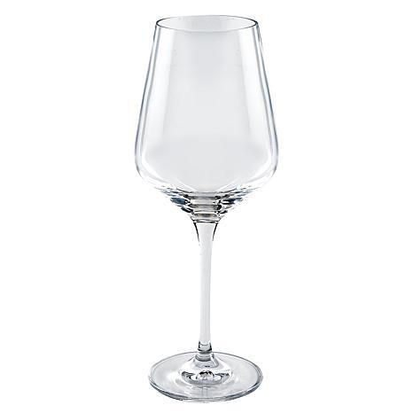 Jack Badash Truly Elegant Sofia Wine Glasses 4-pack