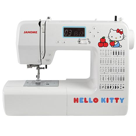 Janome Hello Kitty LCD Screen Sewing Machine - White