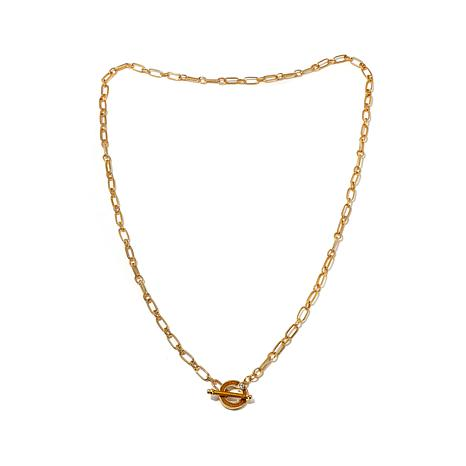 "JAY Jay Strongwater ""Signature"" Oval-Link 36"" Necklace"