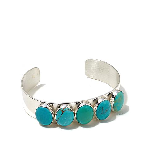 Jay King Chilean Turquoise Sterling Silver Cuff