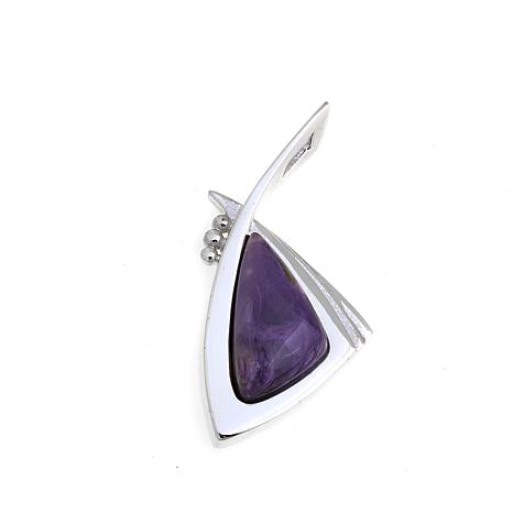 Jay King Contemporary Purple Charoite Pendant