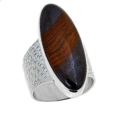 Jay King Desert Sunset Jasper Sterling Silver Ring