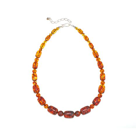 """Jay King Graduated Baltic Amber Bead 18-1/4"""" Necklace"""