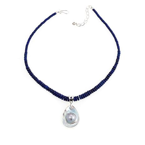 bead stone hematite maxshock handmade lazuli and necklace necklaces lapis mens with