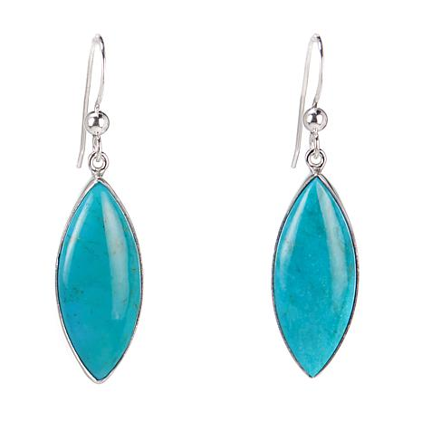 Jay King Marquise-Cut Azure Peaks Turquoise Drop Earrings
