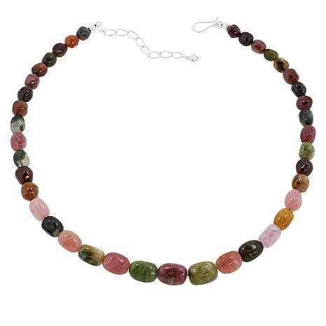 Jay King Multi-Colored Tourmaline Bead Necklace