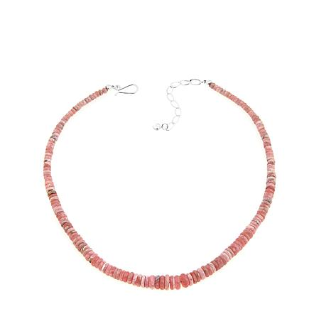 "Jay King Rhodochrosite Graduated Bead 18"" Necklace"