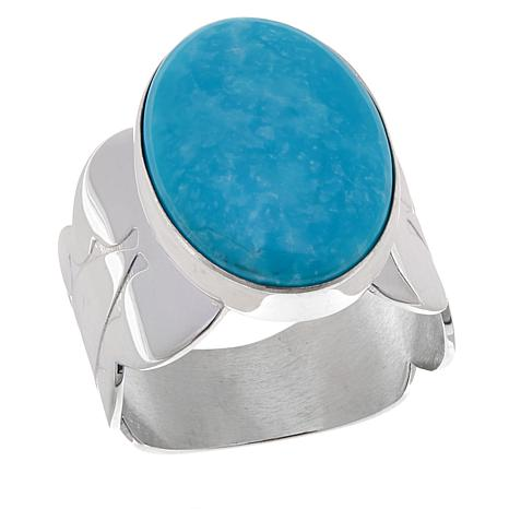 Jay King Sonoran Blue Oval Turquoise Ring