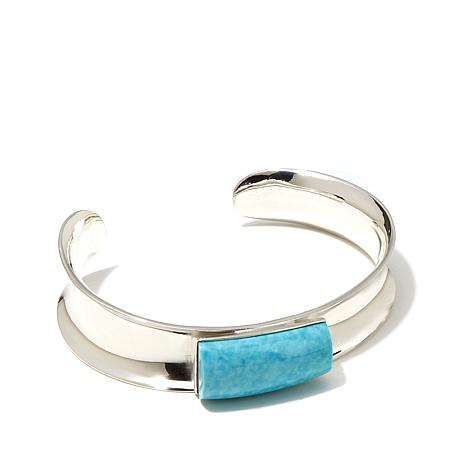 Jay King Sonoran Turquoise Concave Cuff Bracelet