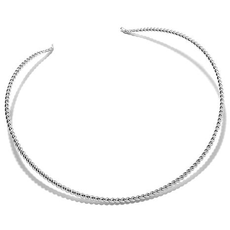 Jay King Sterling Silver Rope Twist Collar Necklace