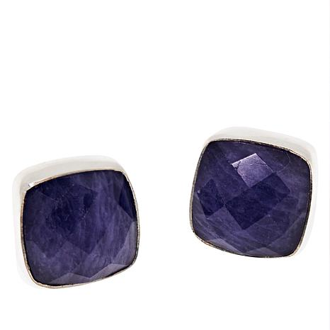 Jay King Sterling Silver Tanzanite Earrings