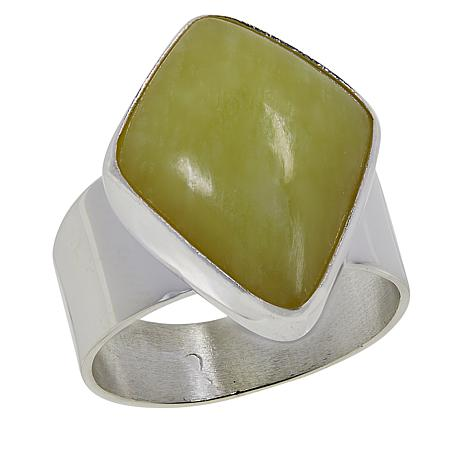 Jay King Sterling Silver Yellow Bauhinia Ring